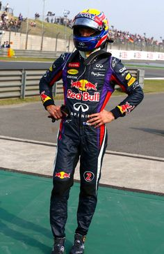 Round 3, UBS Chinese Grand Prix 2013, Race, Mark Webber, Driver, Infiniti Red Bull Racing, Retires From Race