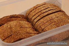 Mindenmentes, teljes kiőrlésű házi kenyér (gluténmentes, tojásmentes, szójamentes)