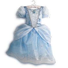 Robe de déguisement Cendrillon pour enfant