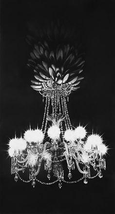 Gonzalo Fuenmayor I Apocalypse XX, 2016   Charcoal on paper   82.75 x 45 inches