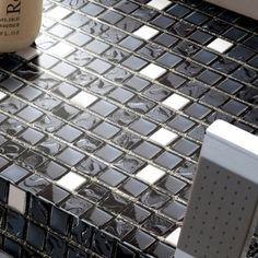 Glass Mosaic Tiles Crystal Cheap FashionTile Bathroom Wall Square Stickers Kitchen backsplash H656