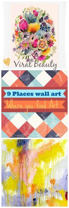 Viral Beauty: Wall Art 9 locais onde encontra as melhores pintur...