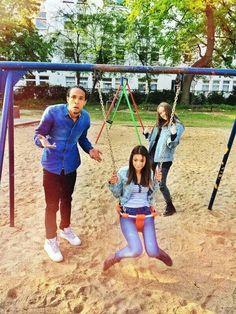 Paola Maria & Simon Desue & Luna Darko #fun