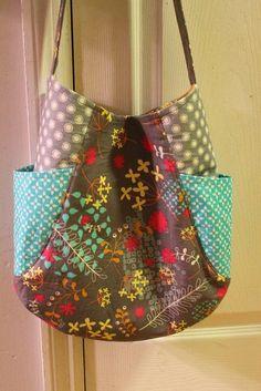 joli sac (tuto non trouvé dans la traduction de l'article) cute tote pattern