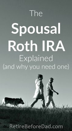 Utilize the Spousal Roth IRA to double your retirement savings to help build wealth. It's a must have financial account for stay-at-home parents allowing you to avoid paying taxes on more of your income. Updated for Saving For Retirement, Early Retirement, Retirement Planning, Financial Planning, Retirement Savings Plan, Military Retirement, Financial Budget, Retirement Parties, Financial Literacy