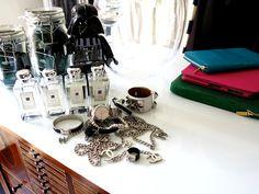 Dressing Table Items, 47 Park Avenue.