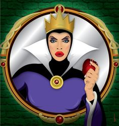 Raven as the Wicked Queen