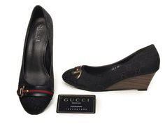 don't usually care about brands much, but these Gucci wedges are pretty awesome.