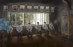 Jarmo Makila Finland, Horror, Childhood, Frame, Painting, Home Decor, Art, Picture Frame, Art Background