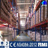Adjustable Europe Pallet Racking System In Stacking Racks & Shelves