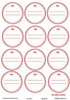 A set of farm themed kitchen printables for your kitchen papercrafting use. Free for personal noncommercial use only.
