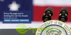 a versión en español del sitio web de la Casa Blanca desapareció de internet poco después de que el ...