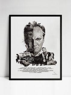 Movie Director Portrait, Quentin Tarantino