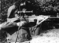 Top 10 Insanely Advanced Pieces Of Nazi Wartime Equipment - The Zielgerät 1229  Zielgerät-1229  The Zielgerät 1229, also known as the Vampir Scope, was a revolutionary night vision attachment, designed to be fitted to the Nazis' equally-as-revolutionary STG44 assault rifle.  Read more: http://www.toptenz.net/top-10-insanely-advanced-pieces-of-nazi-wartime-equipment.php#ixzz2ThYyLr00