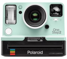 Polaroid Originals VF Instant Camera (Mint Edition)Inspired by the original OneStep camera from the Polaroid Originals Viewfinder i-Type Camera is a modernized analog instant camera delivering instant photos with a retro vibe. Polaroid One Step, Polaroid 600, Vintage Polaroid, Vintage Cameras, Cool Gifts For Teens, Cool Tech Gifts, Tween Gifts, Electronic Gadgets For Men, Electronic Gifts
