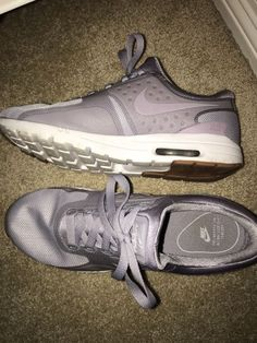 aaa1f67e2e618 Nike Air Max Womens Running Shoes US Size 8 Lavender Nice!  fashion   clothing