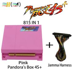 Pandora box 4S+ HD 815 in 1 Pandora's box 4 to 4S plus Update jamma boards HDMI for controle arcade game cabinet coin acceptor