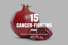 Beat Cancer: The Top 15 Cancer-Fighting Foods Natural Cancer Cures, Natural Cures, Quitting Alcohol, Beat Cancer, Colon Cancer, Kidney Cancer, Cervical Cancer, Cancer Facts, Salud
