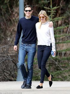 Ivanka Trump and Jared Kushner enjoy final day on the slopes of Aspen #dailymail