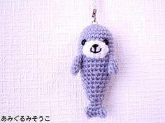 Seal Amigurumi Free Japanese Diagram Pattern  http://amigurumisouko.web.fc2.com/s-azarasi.html