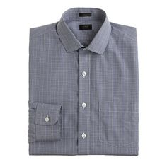 A freshly laundered and well-ironed shirt attests to the upstanding character of its wearer.