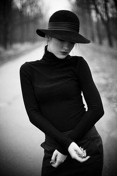 jerzee55:    Dressed in Black.. by Glafira