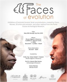 http://www.blendernation.com/2013/03/17/faces-of-evolution-exhibition-of-facial-forensic-reconstructions-of-hominids/