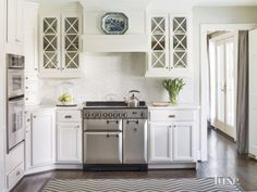 Contemporary White Kitchen Cabinetry