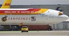 foto de la seleccion española con el avion - Buscar con Google