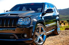 Custom Jeep srt8, Carbon fiber all around, lowered, custom rims, borla, and much more;)