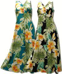 0cdb48c57c29 Hawaiian Clothing, tropical and Polynesian prints in mid, tea, ankle & long  length fashion