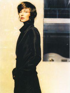 Anna Mouglalis- Coiffure Gerald Porcher