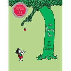 The Giving Tree,Shel Silverstein,books,childrens books,Harper Collins,love stories,the giving tree,paperback,hard cover books,picture books,bestsellers,best sellers
