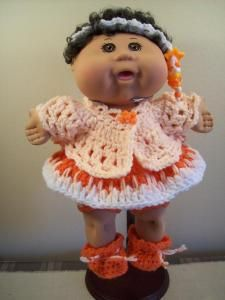 1000+ images about Crochet Cabbage Patch Doll Outfits on Pinterest Cabbage ...