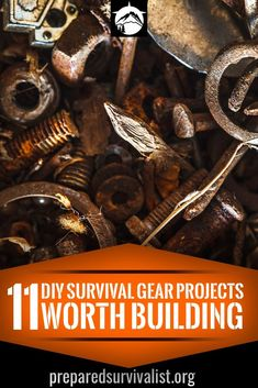 DIY survival gear - 11 of the best DIY survival gear projects to start when you have a bit of time. DIY survival gear projects featuring DIY fire starters, DIY water filters and more.