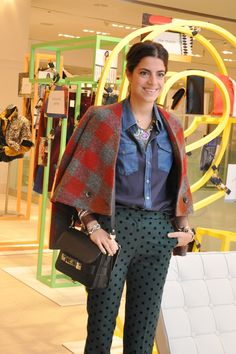 Man Repeller Leandra Medine at Holt Renfrew November 2011 9