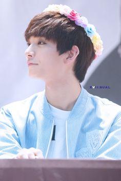 Incheon Fansign Event (7-25-15) #Joshua #flower