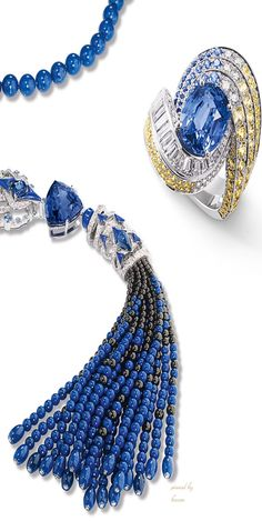 Chaumet's New High Jewelry Collection- Lumières d'Eau.