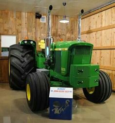 John Deere 5020 Repowered by Kinze
