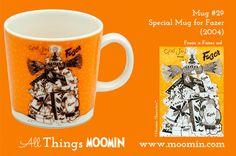 Moomin mug Fazer by Arabia - Moomin Moomin Mugs, Tove Jansson, Finland, History, Tableware, Design, Collection, Dinnerware, Dishes