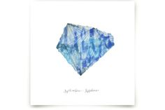 September - Sapphire Art Prints by Naomi Ernest at minted.com for Maggie Belle