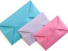 Umschlag falten - so geht's