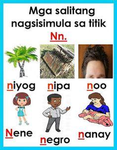 Teacher Fun Files: Mga Salitang Nagsisimula sa mga Sumusunod na Titik