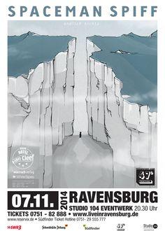 #spacemanspiff #ravensburg #studio104 #konzerte  www.liveinravensburg.de