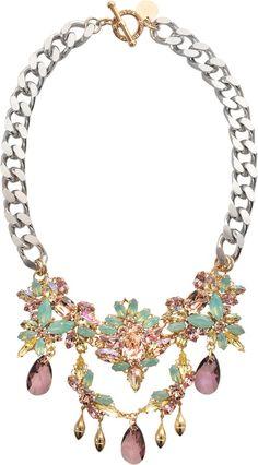 Anton Heunis Wedding Bouquet Secret Garden Necklace