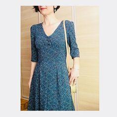 1940's Tea Dress 1940s Tea Dress, Sew Over It, Class Design, Sewing Class, Dress Sewing, Dressmaking, Vintage Inspired, Sewing Patterns, Wrap Dress