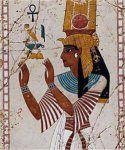 Copricapo femminile antico Egitto