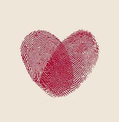 Valentine crafts for kids -Fingerprint Heart Valentine Crafts For Kids, Be My Valentine, Holiday Crafts, Kids Crafts, Craft Projects, Arts And Crafts, Valentine Hearts, Fingerprint Heart, Fingerprint Wedding