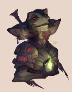 DeviantArt: More Like Goblin Head Concepts by UlaFish
