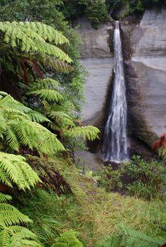 Mount Damper Falls Side Road, Famous Bridges, South Island, Small Island, Ghost Towns, Pacific Ocean, Fiji, New Zealand, Waterfall